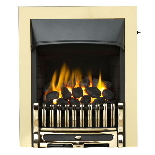 Valor Trueflame Convector Gas Fire with Alton Brass Fret