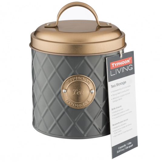 Typhoon Copper Lid Tea Jar
