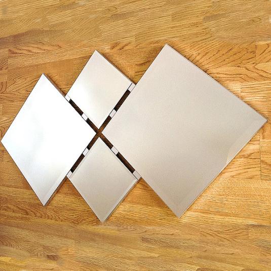 Glass Quartet Mirror