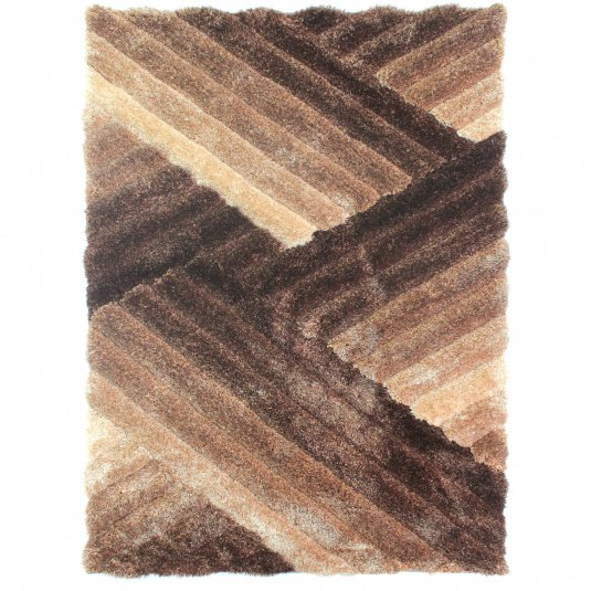 Verge Lattice Bronze 160cm x 230cm Rug