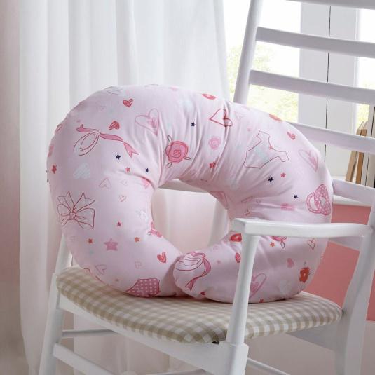 Clair De Lune Tippy Toes Nursing Pillow