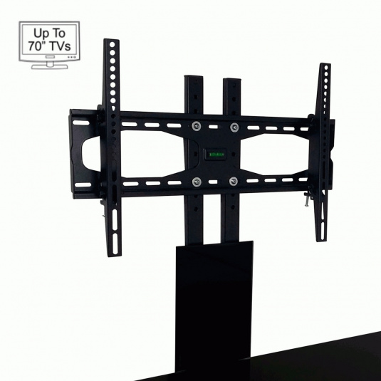 """Invictus Black Bracket TV Stand for up to 70"""" TVs"""