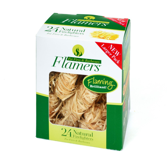 Flamers Pack of 24 Firelighters