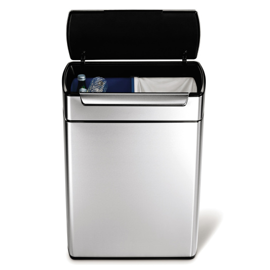 Simplehuman 48 Litre FPP Touch Bar Recycling Bin