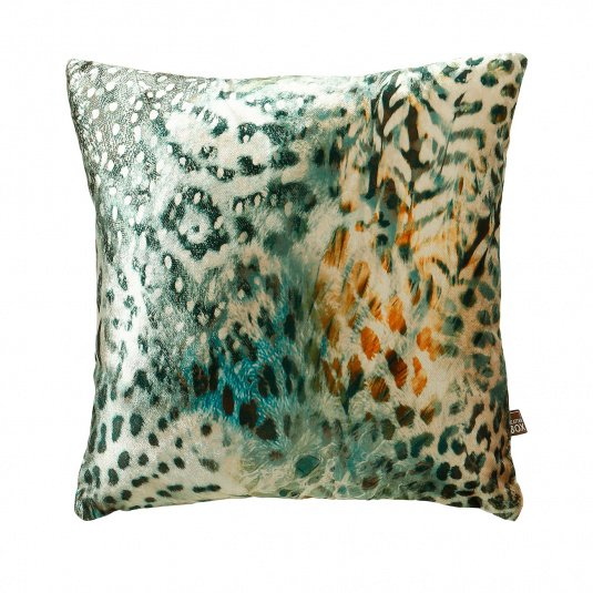 Scatter Box Tigerlily Cushion in Green