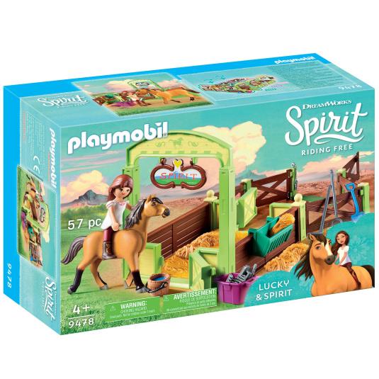 Playmobil Lucky and Spirit Horsebox