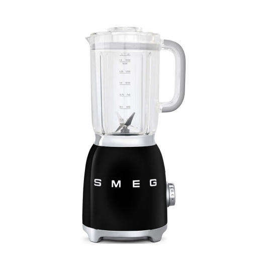 Smeg 50's Retro Style Black Food Blender