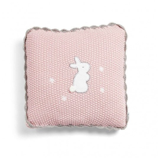 Mamas & Papas Welcome To The World Cushion Pink