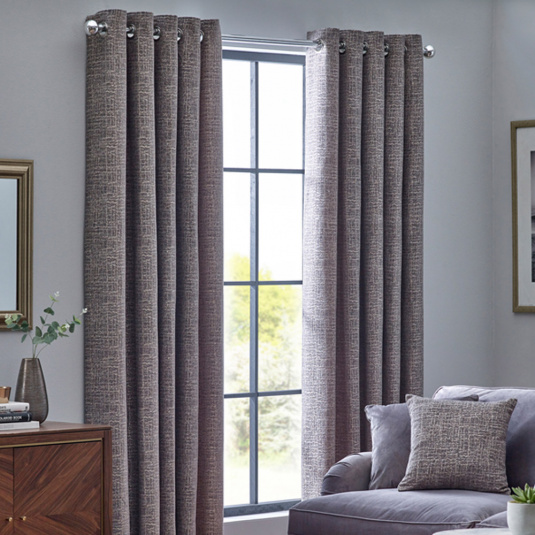 Belfield Orion Zinc 66x72 Curtains
