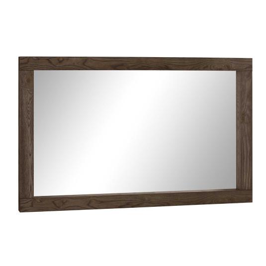 Hennessey Dark Oak Wall Mirror