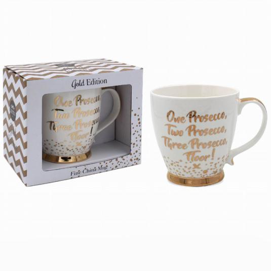 1 2 3 Prosecco Mug