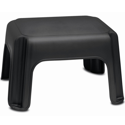 Addis Soft Black Step Stool