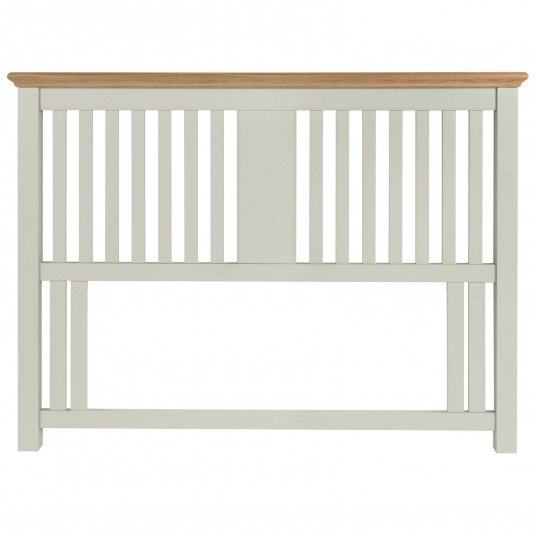 Henley Soft Grey and Oak Headboard Collection