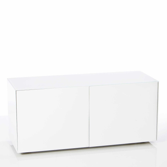 """Invictus White TV Stand for up to 55"""" TVs"""