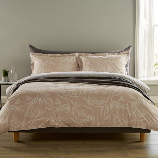 Christy Bamboo Blush Double Duvet Set