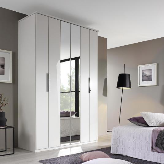 Fino White 3 Door Wardrobe