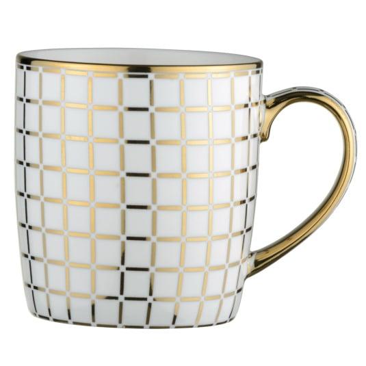 Lattice Gold Mug