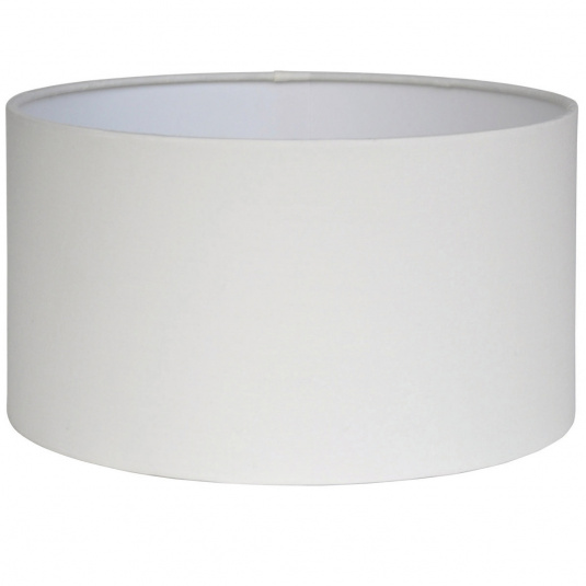 Harry 16 Inch Ivory Cylinder Light Shade