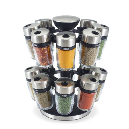 16 Jar Spice Carousel