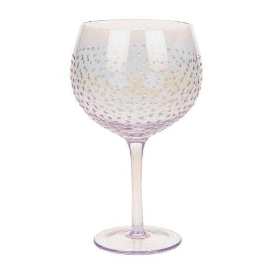 Lilac Lustre Gin Copa Glass