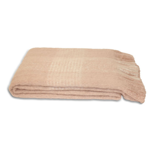 Riva Paoletti Cairngorm Pink Throw