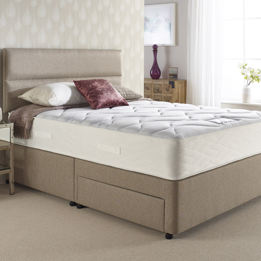 Myers Perfect Comfort 1000 Taupe Divan Bed Collection