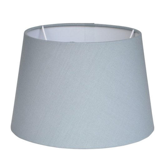 Tapered Poly Cotton Grey Lamp Shade Collection