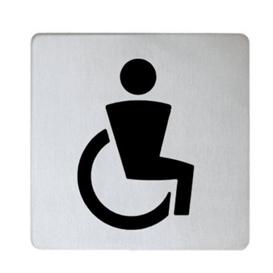 Keuco Disabled Doorplate