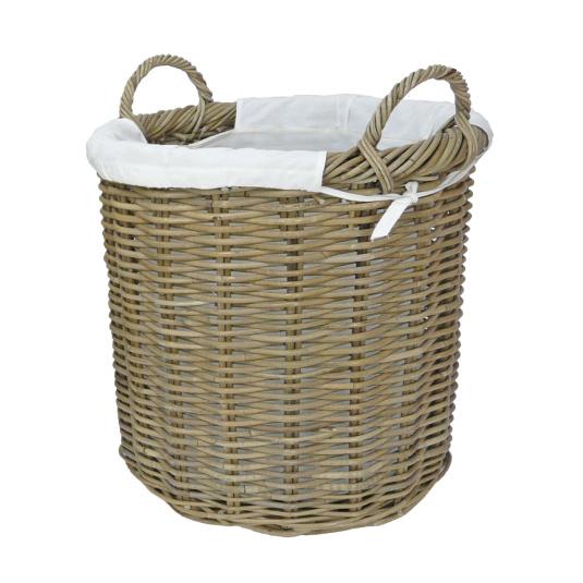 Langham Rattan Large Log Basket
