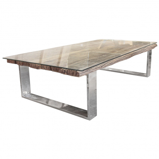 Santa Barbara Reclaimed Wood Rectangular Coffee Table