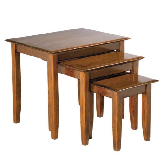 Classic Mahogany Nest of Tables