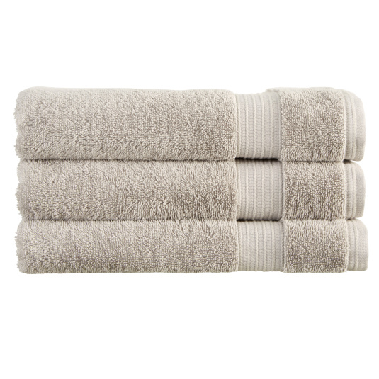 Christy Sanctuary Silver Hand Towel