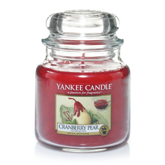 Yankee Medium Jar Candle - Cranberry Pear