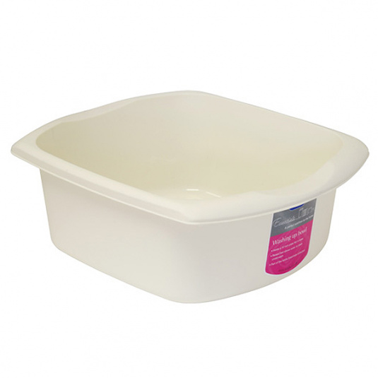 Addis Cream Large Rectangular Washing Up Bowl