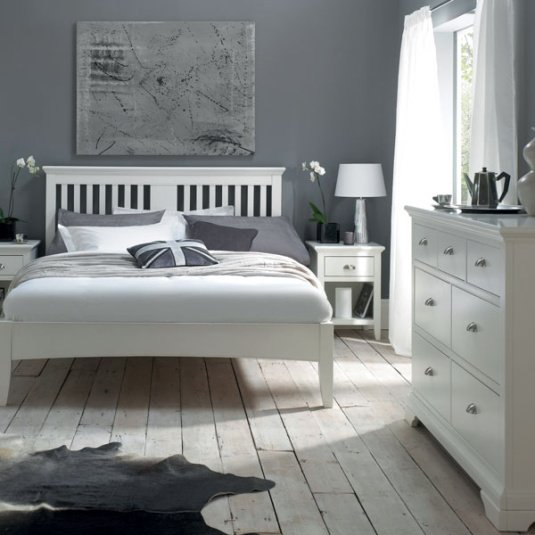 Henley White Bedroom Collection