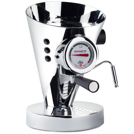 Bugatti Diva Chrome Espresso Machine