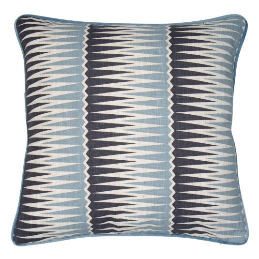 Malini Magnus Blue Cushion