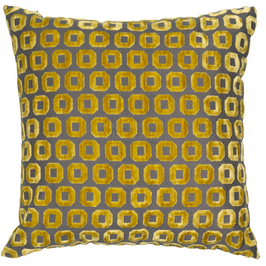 Malini Bentley Mustard Cushion