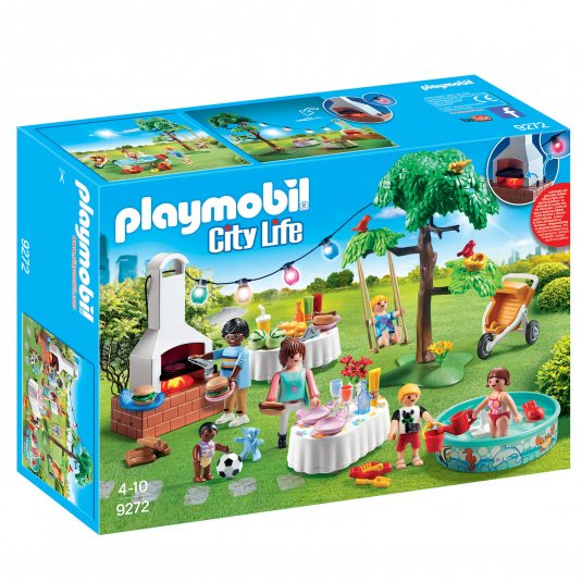 Playmobil City Life Housewarming Party Set