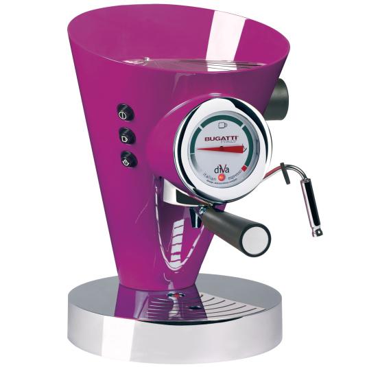 Bugatti Diva Lilac Espresso Machine