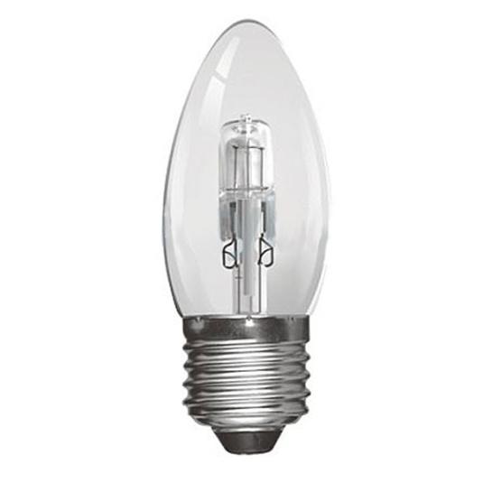 Crompton Halogen 18W ES E27 Clear Candle Light Bulb