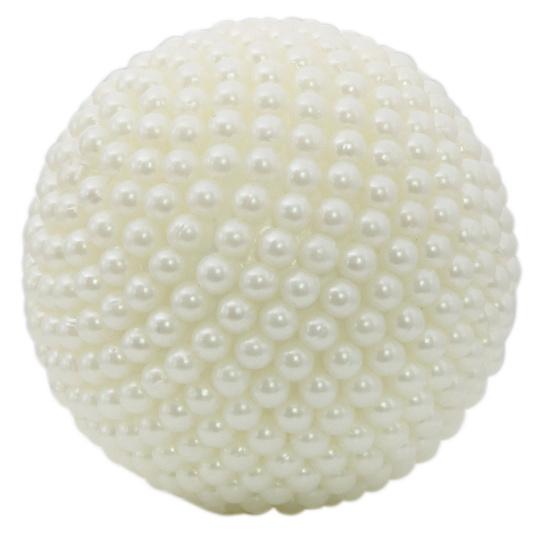 Pearl White Ball