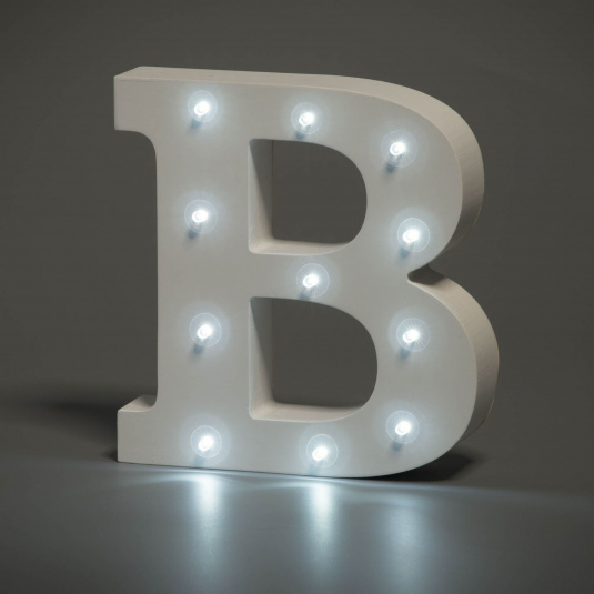 Light Up Letter - B