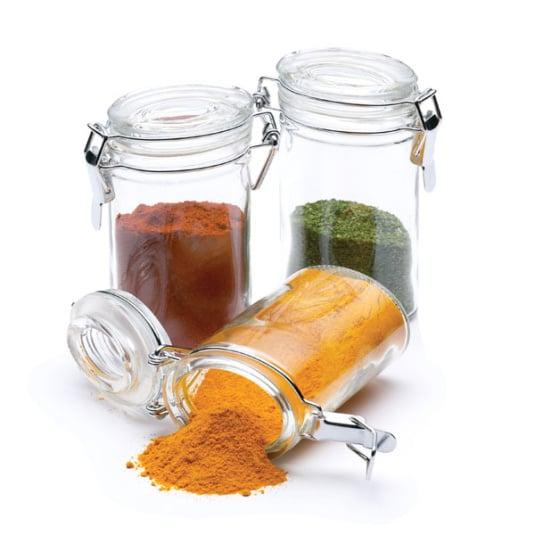 Oval Shaped Spice Storage Jar
