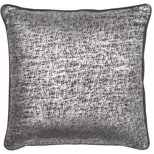 Malini Shimmer Silver Cushion