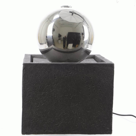 LED Stainless Steel Ball Fountain