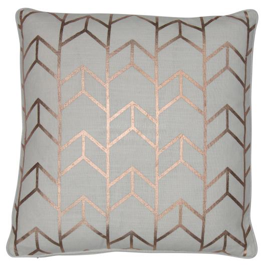 Malini Geo Rose Gold Cushion