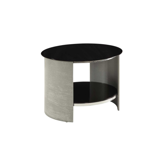 Jual JF303 Curve Grey Side Table