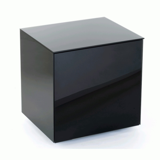 Invictus Black High Gloss Lamp Table