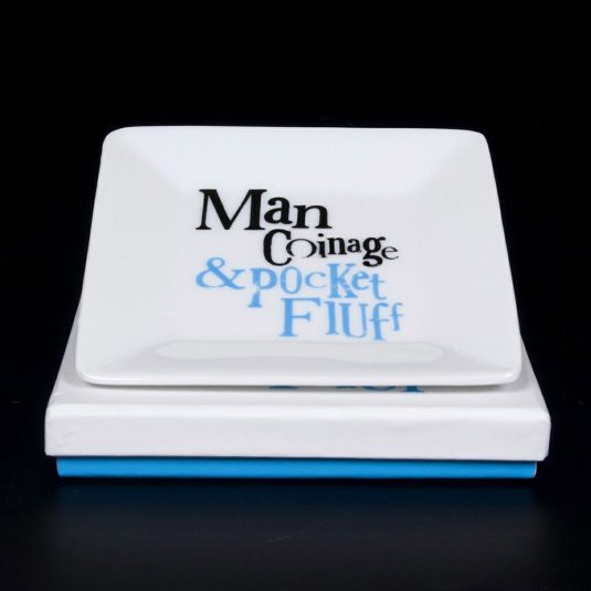 The Bright Side Man Coinage and Pocket Fluff Tray